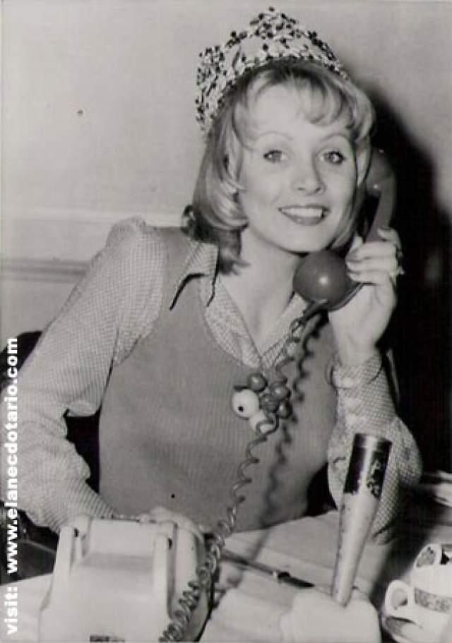 Белинда Грин (Австралия) - Мисс мира 1972.