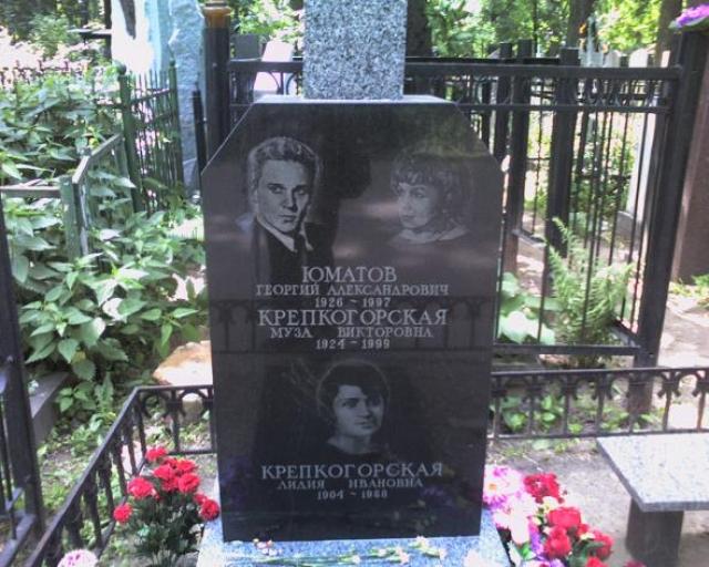 После тюрьмы Юматов прожил чуть больше двух лет, перенес тяжелейшую операцию. 4 октября 1997 года актер умер от кровотечения.