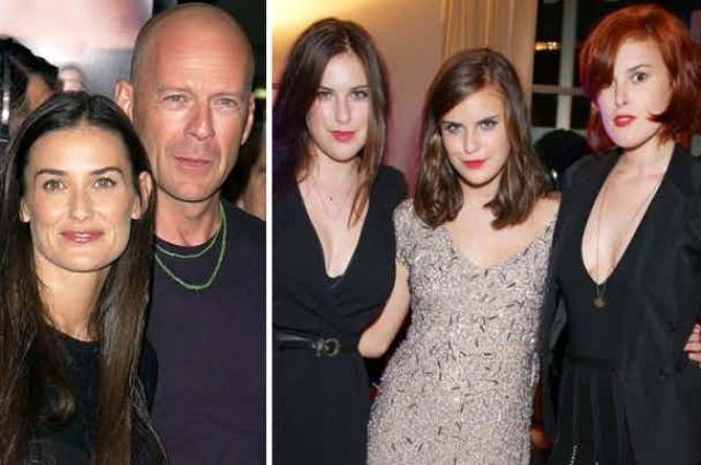 Сестры девушки, Скаут ЛаРу Уиллис и Талула Бэль Уиллис также не унаследовали внешности Деми и Брюса.