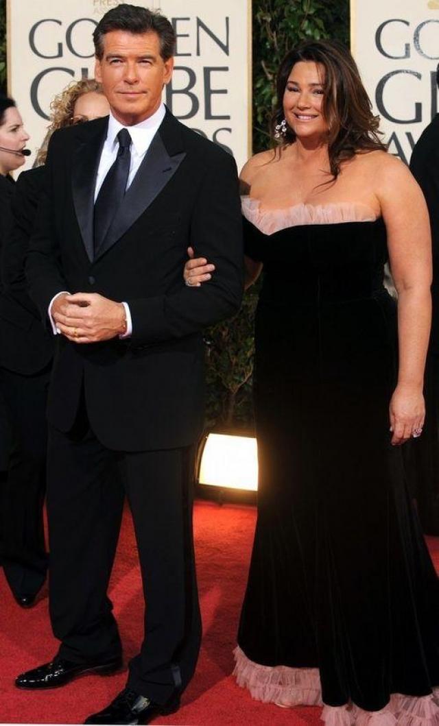 Пирс Броснан. Агент 007 почти 20 лет женат на телеведущей Кили Шей Смит.