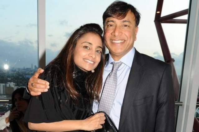 Ваниша Миттал, наследница крупнейшей металлургической группы мира Mittal Steel Company N.V. Ваниша получила образование – в том числе магистерскую степень Лондонского университета.