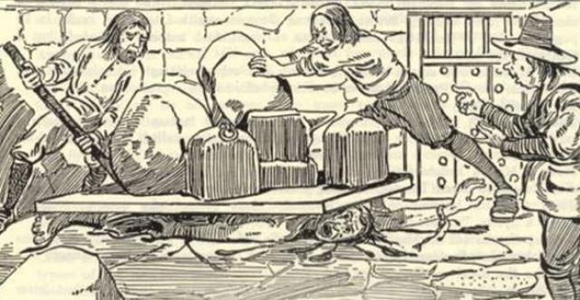 Раздавливание. Раздавливание было популярно в Европе и Америке.