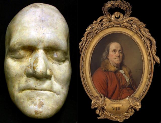Бенджамин Франклин. Американский политик скончался 17 апреля 1790 года. На его похороны в Филадельфии собралось около 20 тысяч человек при том, что все население города в том году составляло 33 000 человек, включая младенцев.