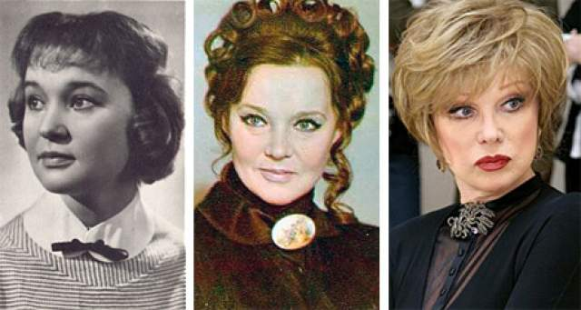Людмила Гурченко. Пожалуй, именно актриса была самой известной российской знаменитостью, буквально одержимой пластическими операциями.