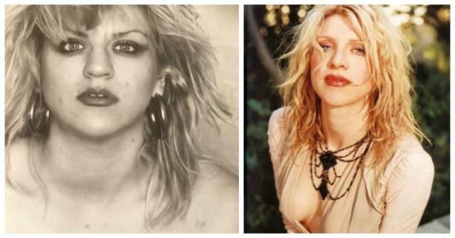 Кортни Лав. Вдова легендарного Курта Кобейна актриса и певица в 1978 году, когда еще была подростком, попалась на краже футболки с изображением группы Kiss в Портленде. После этого ей пришлось отправиться в Молодёжное исправительное учреждение Хиллкреста.