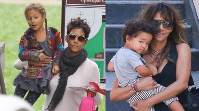 Хэлли Берри. Актриса ни разу не участвовала в совместных с детьми фотосессиях для глянца и не выкладывала их фото в соцсети, а все их снимки сделаны исключительно папарацци.