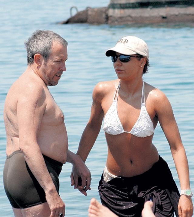 Андрей Макаревич и Наталья Голубь. Брак рокера с дизайнером и фотохудожником продлился семь лет.