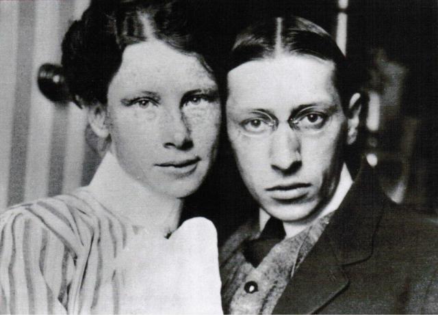 Однако, несмотря на это, им все же удалось связать себя узами брака 23 января 1906 года. В течение последующих двух лет у них родился сын Федор и дочь Людмила.