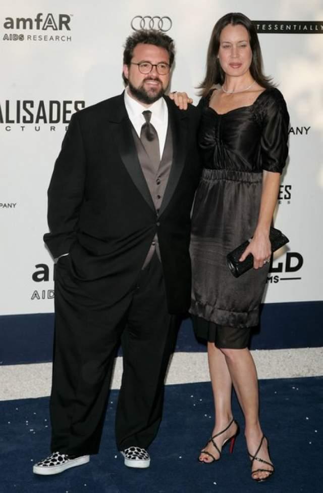 Кевин Смит. Молчаливый Боб женат на актрисе и журналистке Дженнифер Швальбах уже 18 лет.