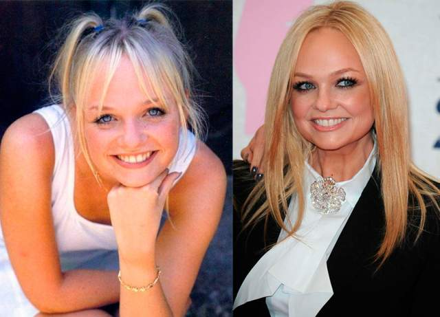 Эмма Бантон (Бэби-Спайс). 42 года. После окончания деятельности в Spice Girls выпустила три сольных альбома, работает диджеем и растит двоих сыновей вместе с мужем Джейдом Джонсоном.
