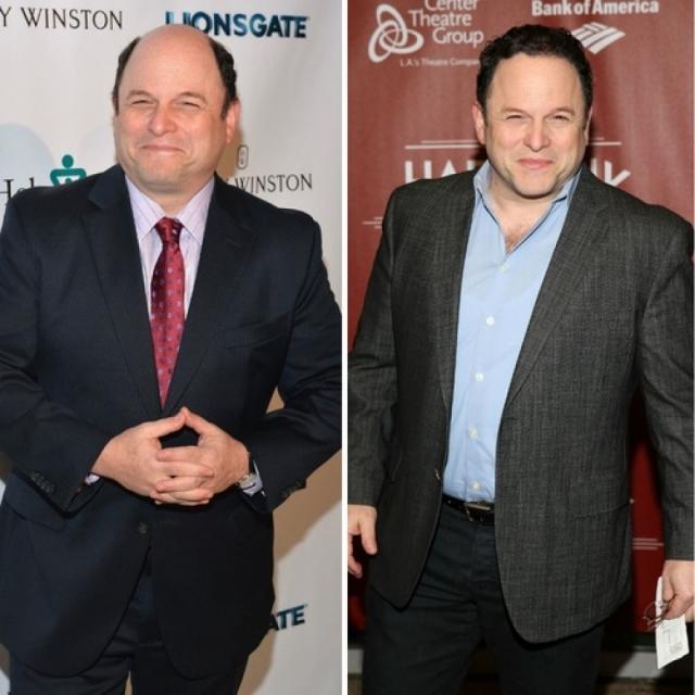 Джейсон Александер. Актер сериала Seinfeld через несколько месяцев после съемок появился перед фотографами с лысой головой.