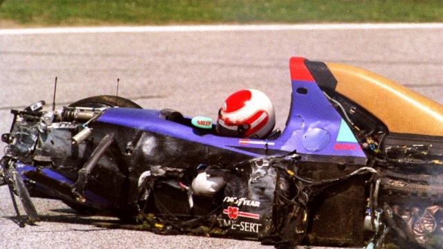 Роланд врезался в бетонную стену и погиб на месте. Его смерть стала первой на Гран-при Формулы-1 за 12 лет.