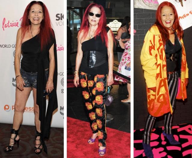 Лауреат многочисленных наград в области моды любит щеголять в нарядах явно не по возрасту.