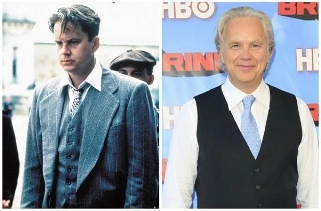 """""""Побег из Шоушенка"""" (1994). Тим Роббинс. Актер продолжил сниматься, также работал в качестве режиссера и даже записал музыкальный альбом."""