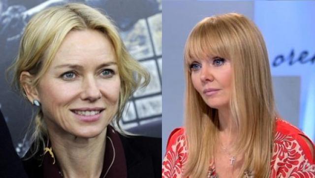 Валерия и Наоми Уоттс (49 лет). Обе блондинки выглядят просто прекрасно для своего возраста.