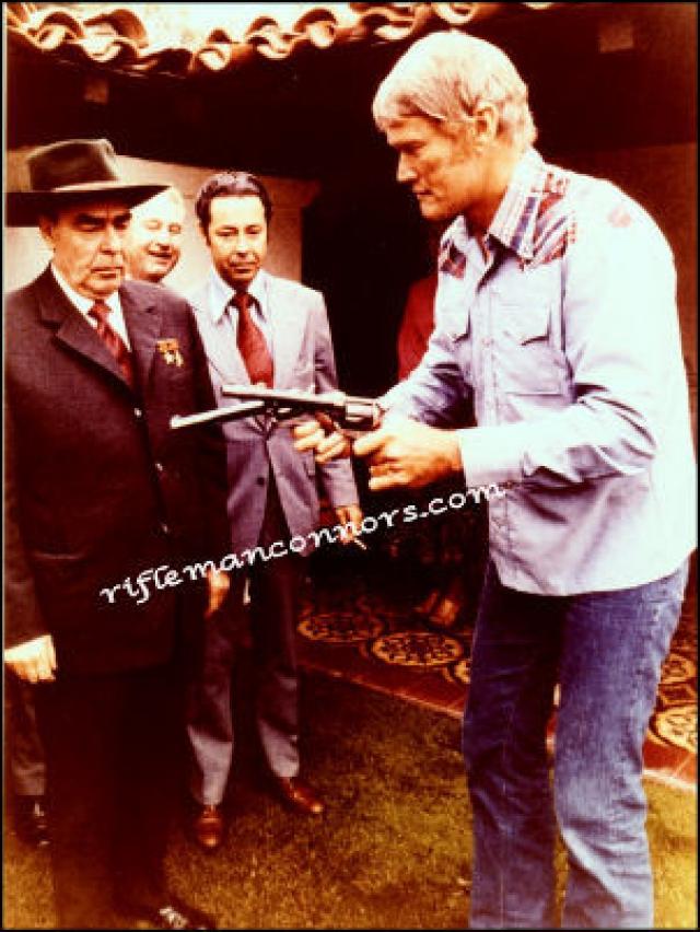 Перед визитом Брежнева в США было принято решение изготовить для Брежнева два эксклюзивных револьвера с заводскими номерами ЛИБ-1 (Леонид Ильич Брежнев-1) и ЛИБ-2.