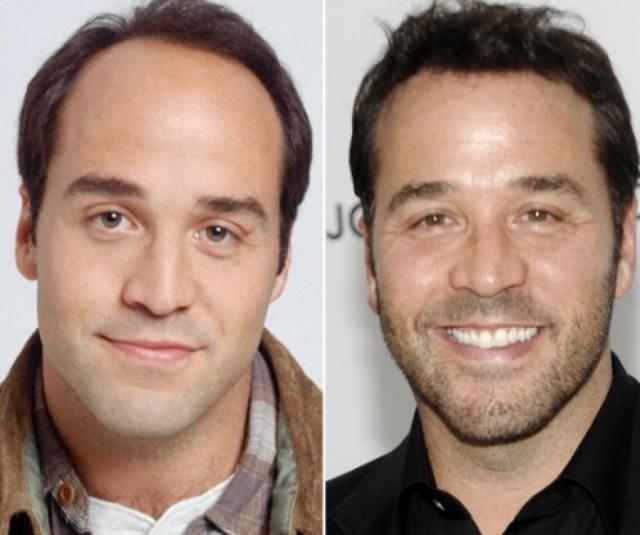 """Джереми Пивен. У звезды сериала """"Красавцы"""" волосы внезапно стали выглядеть лучше, чем 15 лет назад."""