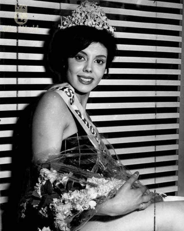 Норма Каппальи (Аргентина) - Мисс мира 1960.