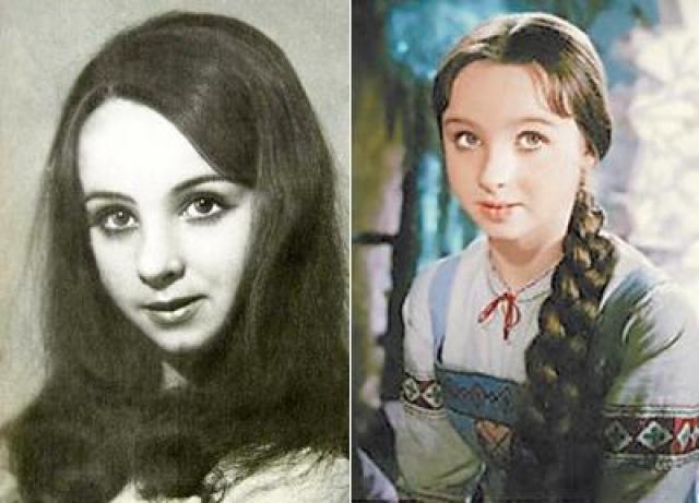 """Наталья Седых. Актриса была известна на всю страну благодаря титулу """"самой маленькой фигуристки Советского Союза"""", поскольку впервые встала на коньки в возрасте четырех лет."""