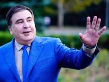 Фото счастливого Саакашвили в аэропорту Амстердама попало в Сеть