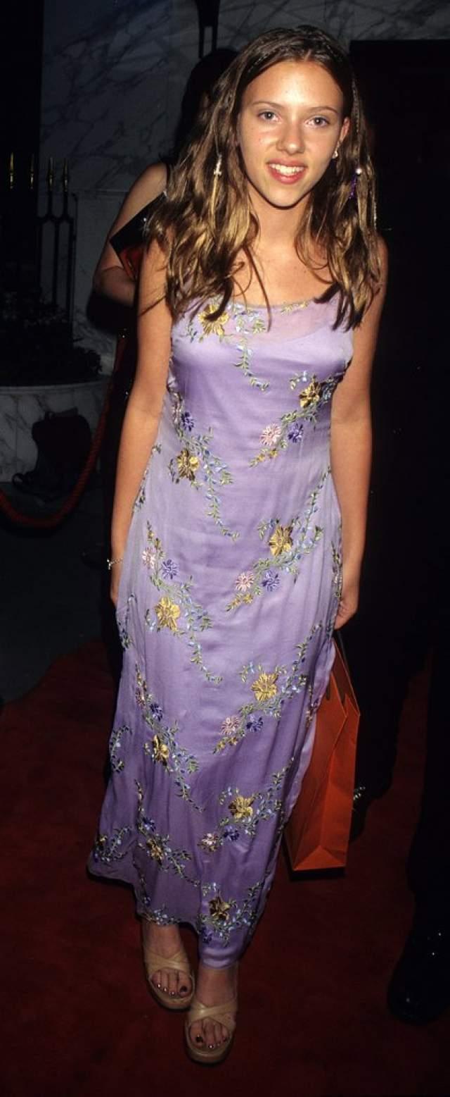 Скарлетт Йоханссон образца 1998 года.