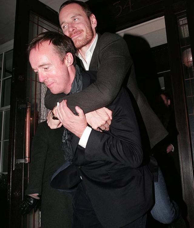 """Майкл Фассбендер. Звезда """"Людей Икс"""" как настоящий ирландец очень любит выпить."""