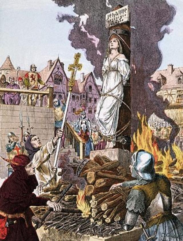 Человека привязывали к столбу и поджигали: сначала обгорали волосы, потом кожа, вдыхаемый воздух сжигал легкие.