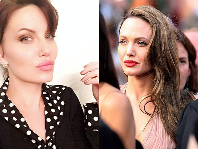 Мелисса Бейзен и Анджелина Джоли. 35-летнюю домохозяйку из Висконсина не радует сходство с Анджелиной: она действительно страдает от повышенного внимания к своей внешности и устала от назойливых фотографов и фанатов Джоли, которые не дают Мелиссе и ее близким людям прохода.