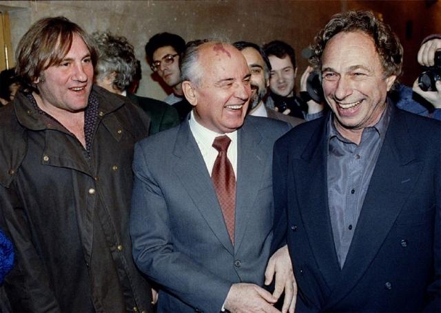 Встречи происходили во время Недели французского кино в Москве.