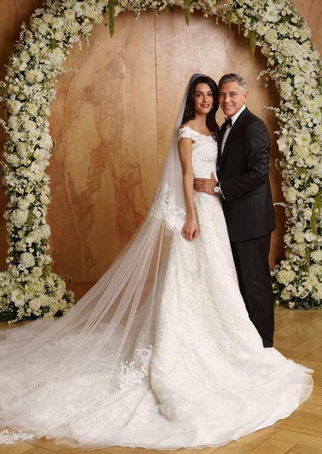 Джордж Клуни и Амаль Аламуддин ($4 млн). Главный холостяк Голливуда закатил роскошную свадьбу также в Венеции в семизвездочном отеле Palazzo Papadopoli.