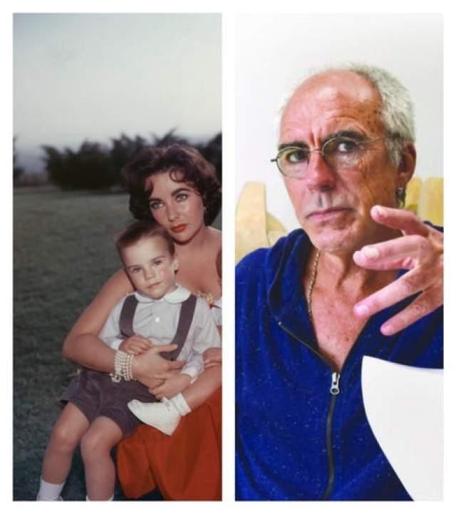 Элизабет Тейлор. За плечами голливудской дивы множество браков, в которых у нее появилось четверо детей. От замужества с Майклом Уилдингом на свет появился Майкл Говард, которому сейчас за 60. Он пробовал себя в качестве актера, а сейчас работает скульптором.
