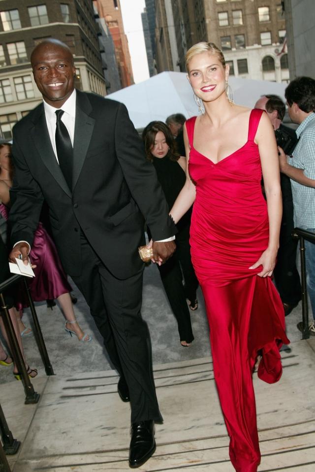 На момент их свадьбы 10 мая 2005 года Хайди была беременна от своего предыдущего бойфренда.