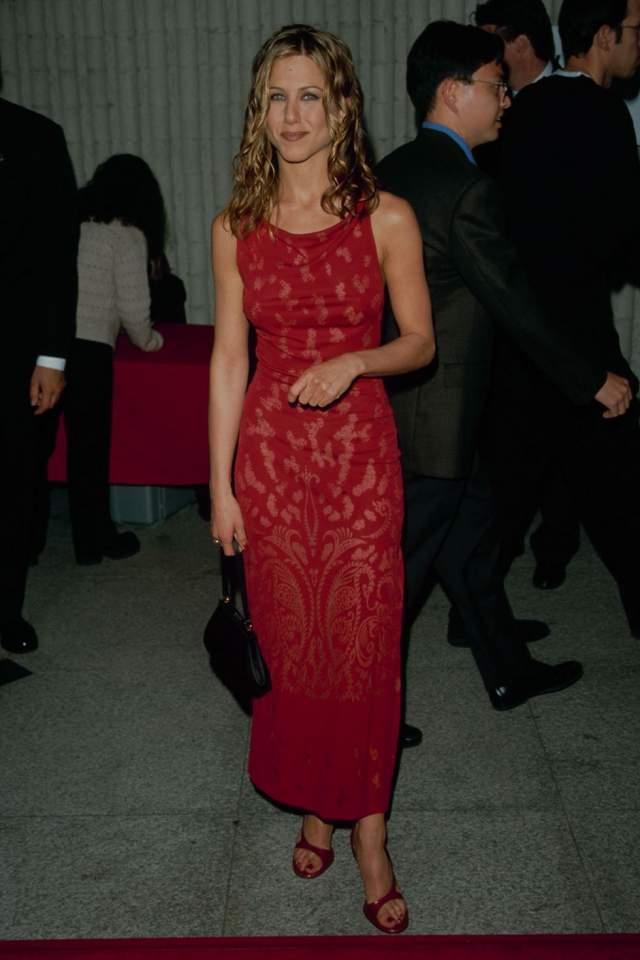 Дженнифер Энистон в 1995.