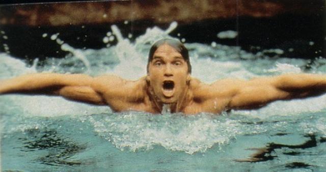Отдыхая в 2004 году на Гавайях, Шварценеггер спас утопающего человека, вытащив серфера, ногу которого свела судорога, на берег.