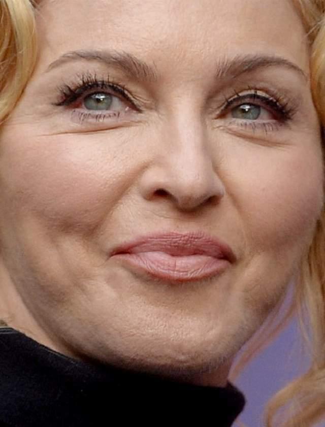 Поп-дива Мадонна .