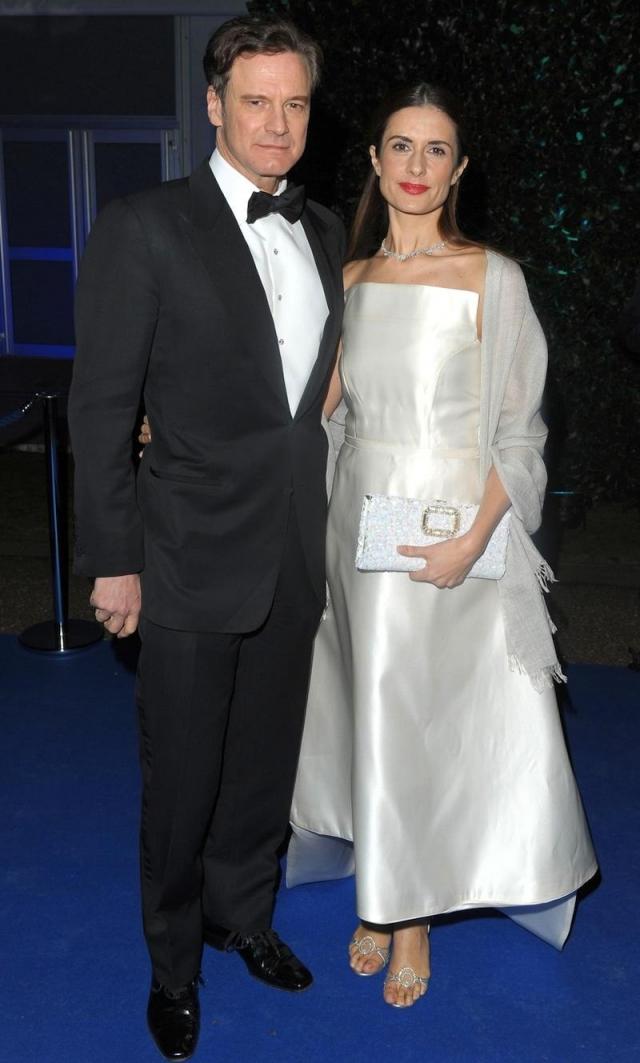Колин Ферт. С 1997 года актер женат на Ливии Джуджолли, итальянском продюсере и режиссере, вместе с которой воспитывает двоих детей.