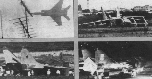 После этого он снизился до высоты примерно 30 м, на которой его не могли обнаружить советские и японские радары. Уже находясь в воздушном пространстве Японии, Беленко поднялся на высоту около 6000 м, где его и засекли.