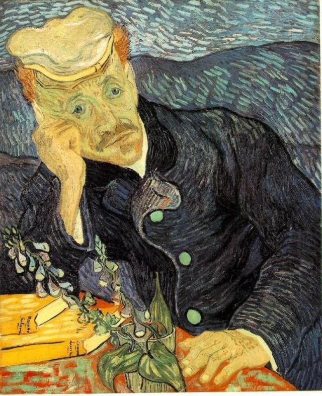 "$82 500 000. ""Портрет доктора Гаше"" , Винсент Ван Гог, 1890 год."