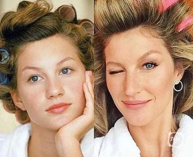 Красавица начала карьеру модели в 14 лет, через 20 лет завершила.