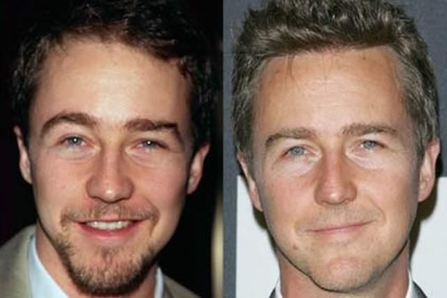 Эдвард Нортон , 48 лет. Создается впечатление, будто у этого голливудского актера даже морщин сейчас меньше, чем когда ему было 25!