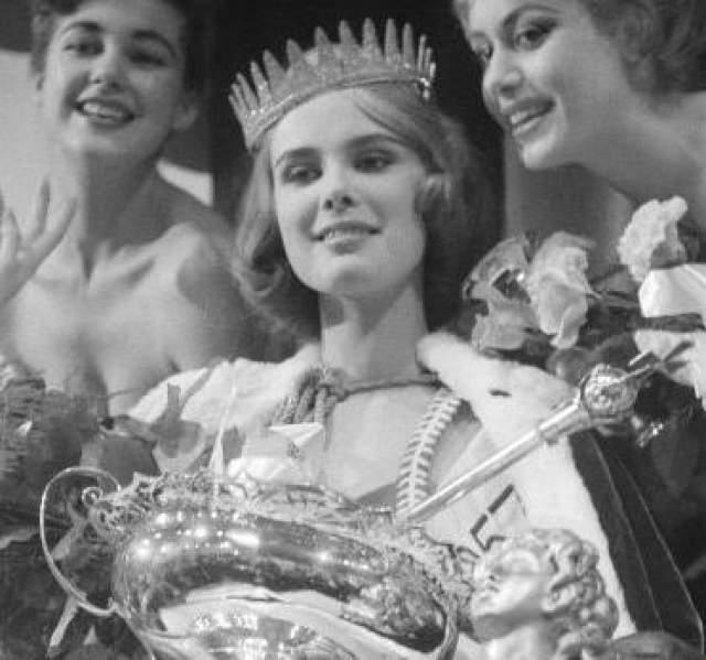 Марита Линдаль (Финляндия) - Мисс мира 1957.