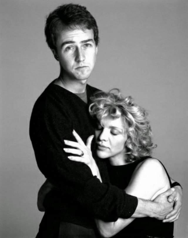 В одном из последних интервью Кортни призналась, что Нортон практически спас ей жизнь, так как первые годы после смерти Курта Кобейна были очень тяжелыми для нее.