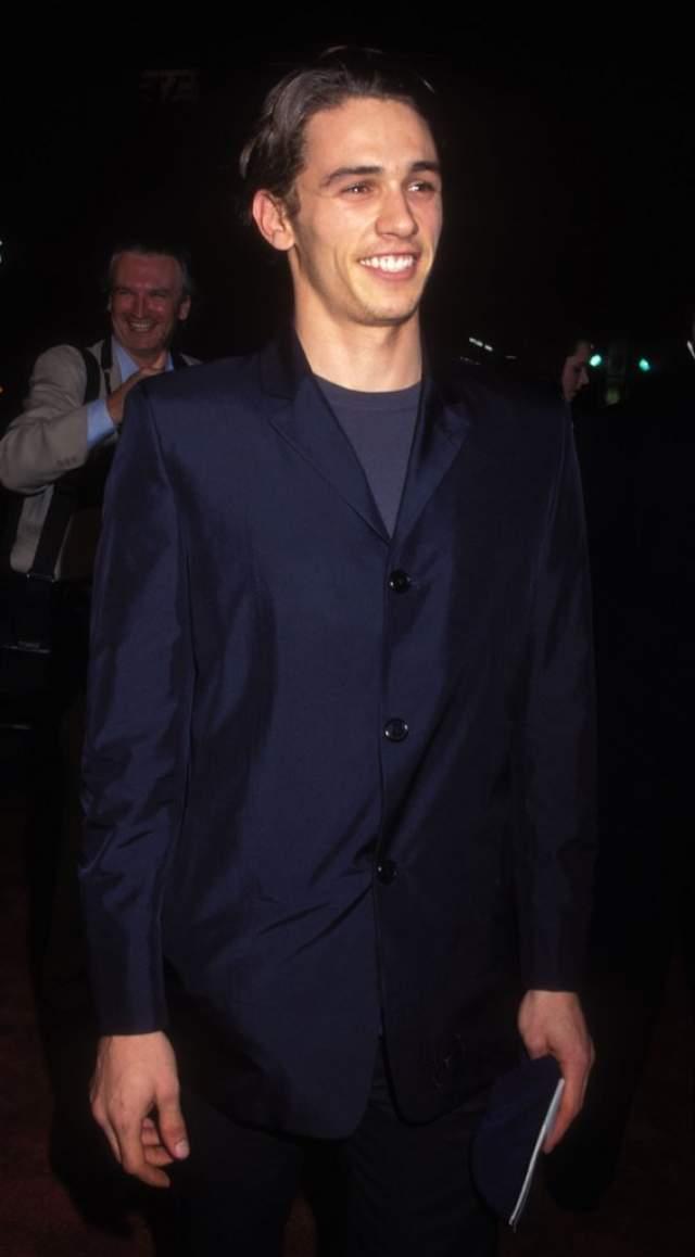Скромный начинающий актер Джеймс Франко .