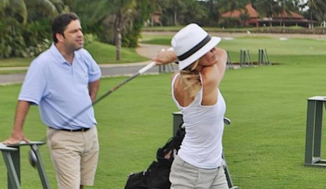 """Кстати, гольф позволяет сжечь 366 калорий в час. Также Камерон каждый день занимается пилатесом с личным тренером. """"Для женщины упражнения на растяжку куда важнее силовых. Не игнорируйте зал, но обязательно дополняйте его йогой или балетом,"""" - считает актриса."""