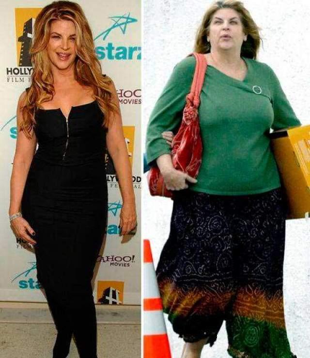 """Кирсти Элли. Американская актриса, известная по ролям в """"Зубной фее"""", """"Двое: я и моя тень"""", """"Смотрите, кто заговорил"""", знаменита также тем, что она ведет упорный, но часто безуспешный бой с лишним весом. В 2011 году после участия в танцевальном шоу она похудела на 30 кг, но затем вес вернулся."""