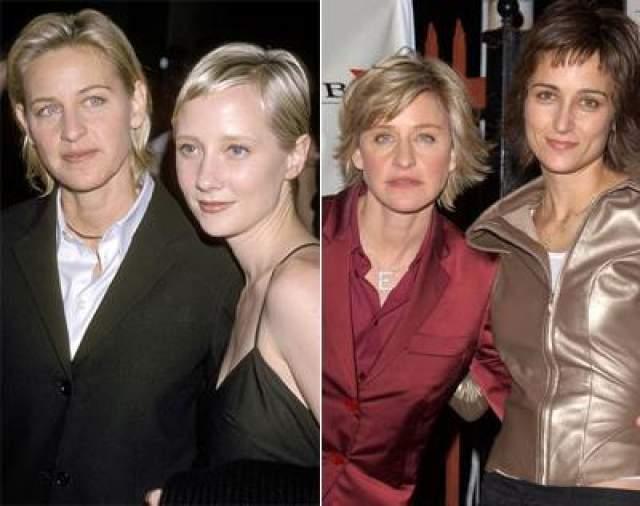 """С 1997 до 2000 год телеведущая состояла в отношениях со звездой сериала """"Другой мир, бисексуальной Анн Хеч. С 2001 по 2004 год - с актрисой и фотографом Александрой Хэдисон."""