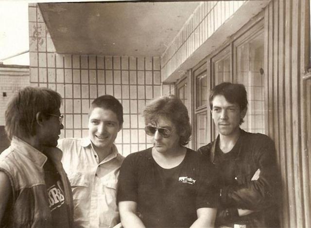 """Последнее фото группы """"Зоопарк""""."""