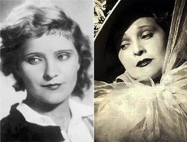 Людмила Глазова. Актриса была на пике популярности в 30-е и 40-е годы, хотя сейчас уже очень мало кто помнит.