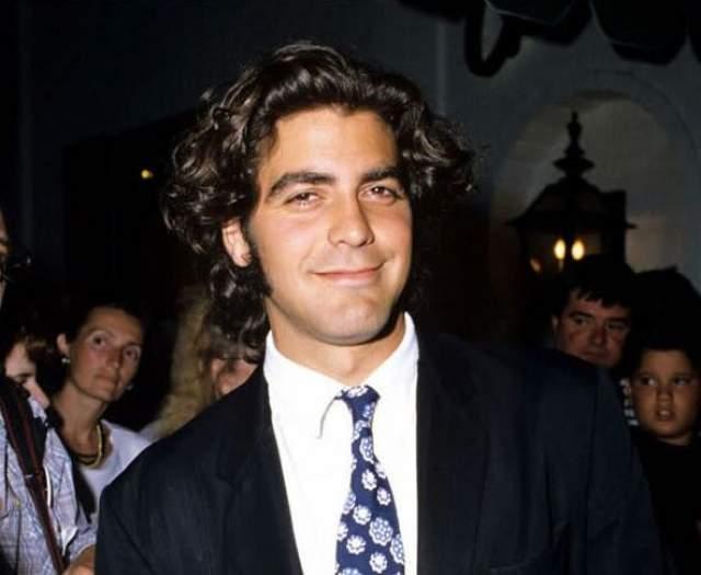Джордж Клуни в 1995.