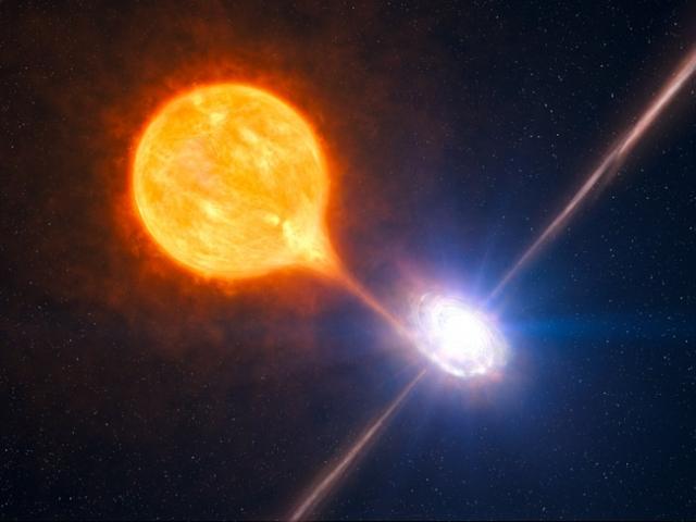 Черные дыры. Ученые считают, что черные дыры образуются когда коллапсирует гигантская звезда: взрыв на сравнительно небольшом пространстве вызывает гравитационное поле такой интенсивности, что даже окружающий свет попадает под его влияние.
